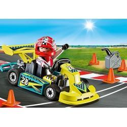 Playmobil 9322 Valisette Pilote de Karting