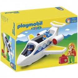 Playmobil 1.2.3. 6780 Avion de Ligne