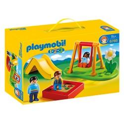 Playmobil 1.2.3. 6785 Enfants et parc de jeux