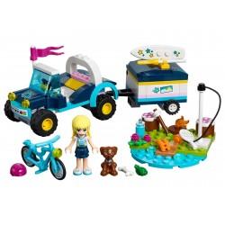 LEGO 41364 Le buggy et la remorque de Stéphanie