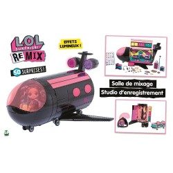 Playset O.M.G. Remix Plane...