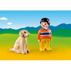 Playmobil 9256 Garçon avec chien