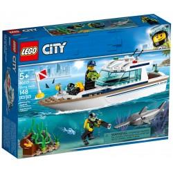 LEGO City 60221 Le yacht de...