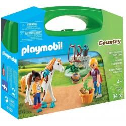 Playmobil 9100 Valisette...