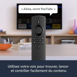 Fire TV Stick Lite avec télécommande vocale Alexa   Lite - Streaming HD, Modèle 2020