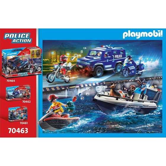 Playmobil 70463 Patrouille en Bateau