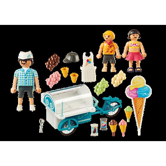 Playmobil 9426 Marchand de glaces et triporteur