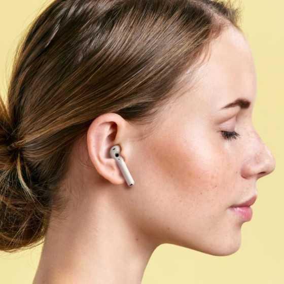 Ledwood T14 - Écouteurs sans fil bluetooth 5.0 TWS, compatible iOS et Androïd avec boitier de chargement - blanc