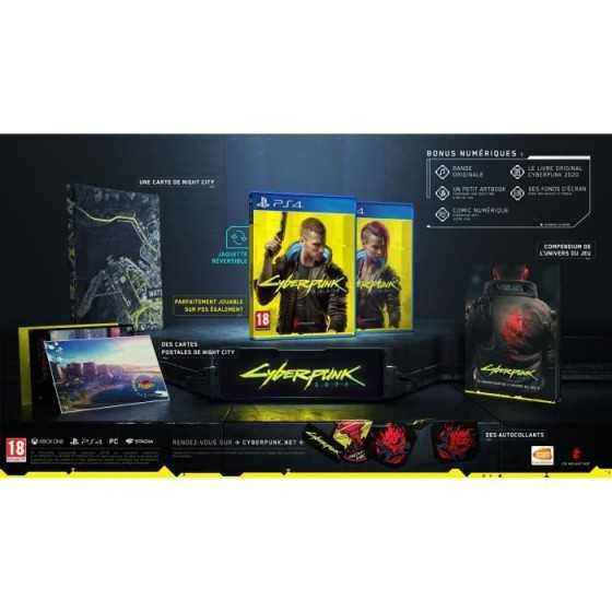 CYBERPUNK 2077 Edition Day One Jeu PS4 - Optimisé pour la PS5