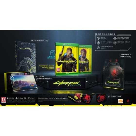 CYBERPUNK 2077 Edition Day One Jeu Xbox Series X - Xbox One