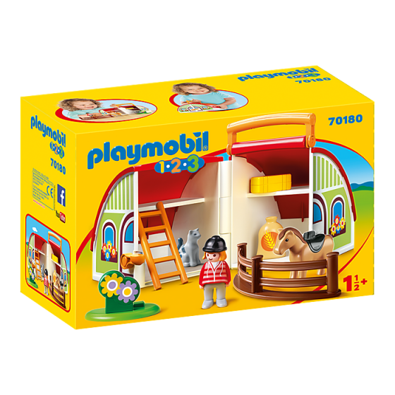 Playmobil 70180 Centre équestre transportable