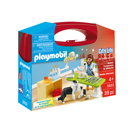 Playmobil 5653 Valisette...