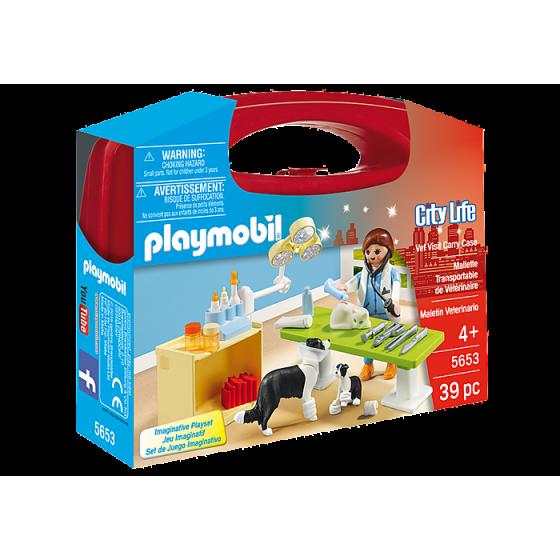 Playmobil 5653 Valisette Vétérinaire