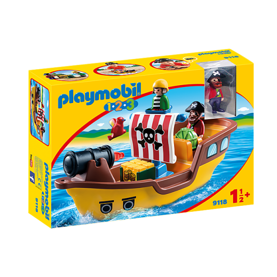 Playmobil 9118 Bateau de pirates