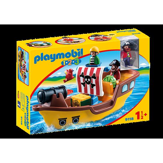 Playmobil 9118 Bateau de...