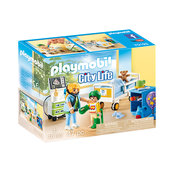 Playmobil 70192 Chambre...
