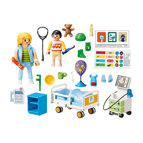 Playmobil 70192 Chambre d'hôpital pour enfant