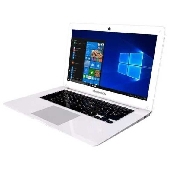 THOMSON PC Portable - NEO13A-4WH64 - 13,3 HD - Intel Atom X5 series - RAM 4Go - Stockage 64Go eMMC - Windows 10