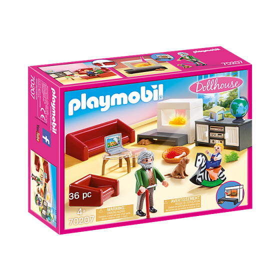 Playmobil 70207 Salon avec...