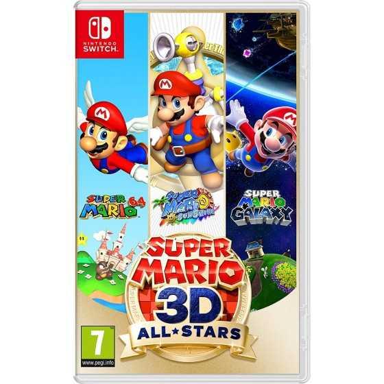 PACK Switch V2 + Jeu Super Mario 3D All-Stars + Joy-Con Neon Vert/Neon Pink