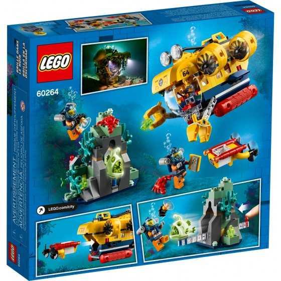 Lego 60264 Le sous-marin d'exploration