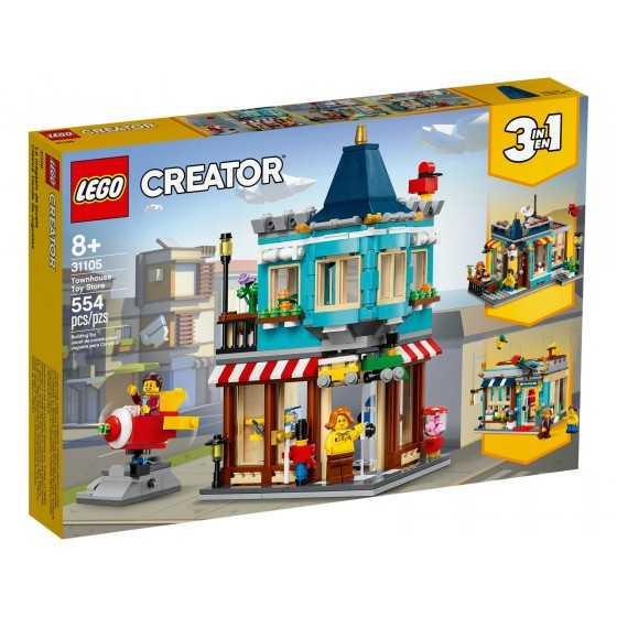 Lego 31105 Le magasin de jouets du centre-ville