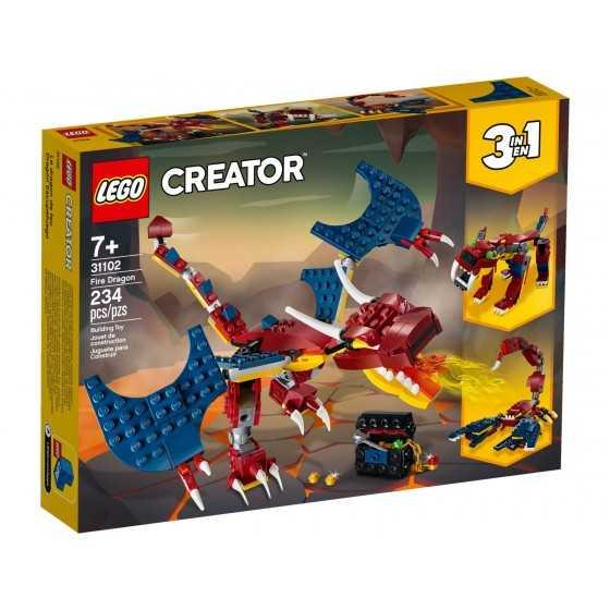 Lego 31102 Le dragon de feu