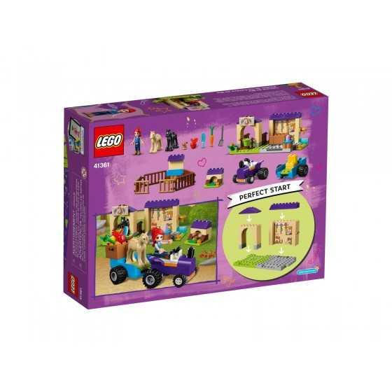 DESTOCKAGE Lego 41361 L'écurie de Mia