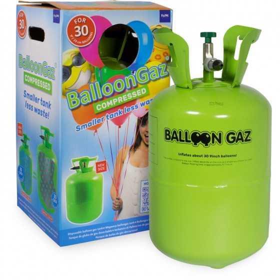Réservoir d'hélium...
