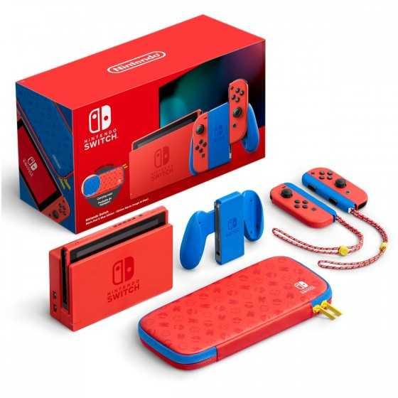 Console Nintendo Switch Edition Limitée Mario