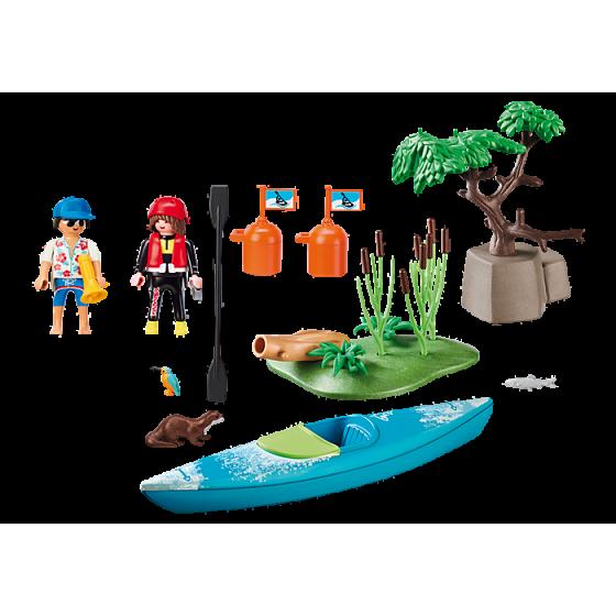 Playmobil 70035 StarterPack Sportifs et kayak