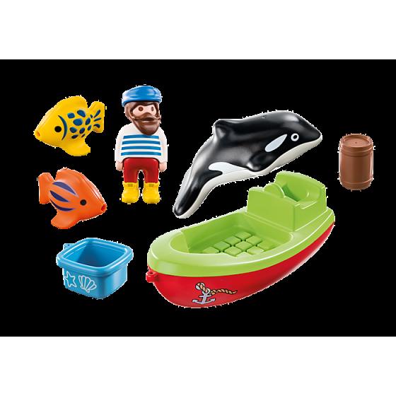 Playmobil 70183 Bateau et pêcheur
