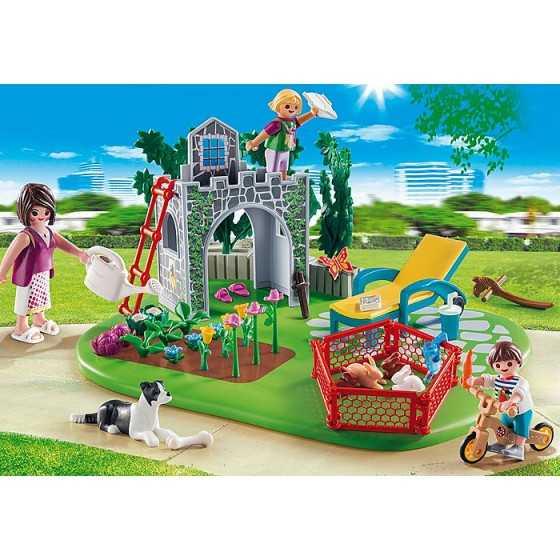Playmobil 70010 SuperSet Famille et jardin
