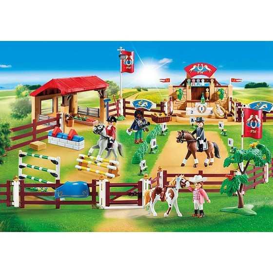Playmobil 70337 Centre d'entraînement pour chevaux