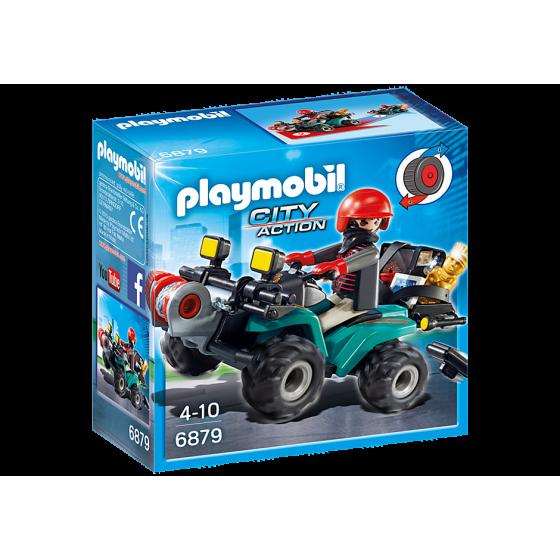 Playmobil 6879 Quad avec...