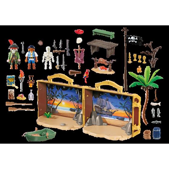 Playmobil 70150 Coffre des pirates transportable