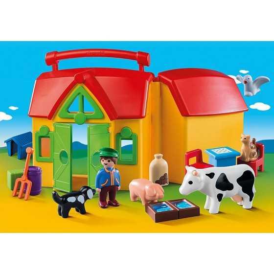 Playmobil 6962 Ferme transportable avec animaux