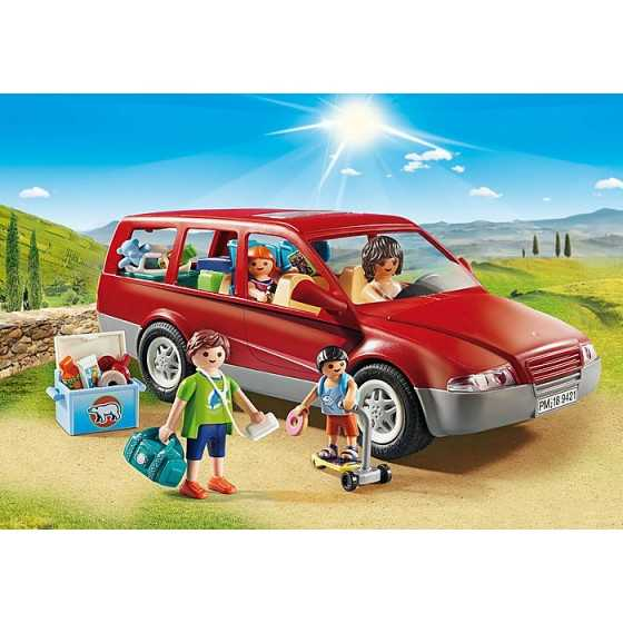 Playmobil 9421 Famille avec voiture