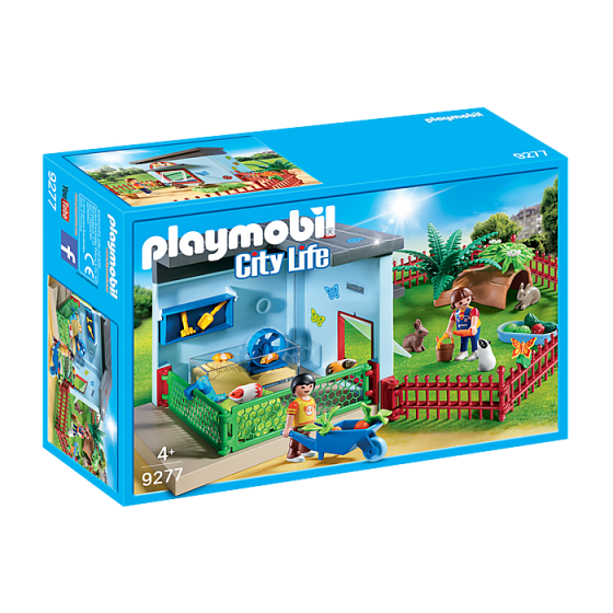 Playmobil 9277 Maisonnette des rongeurs et lapins