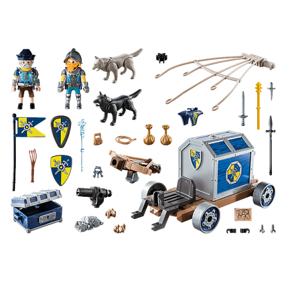 Playmobil 70392 Char du trésor des chevaliers Novelmore