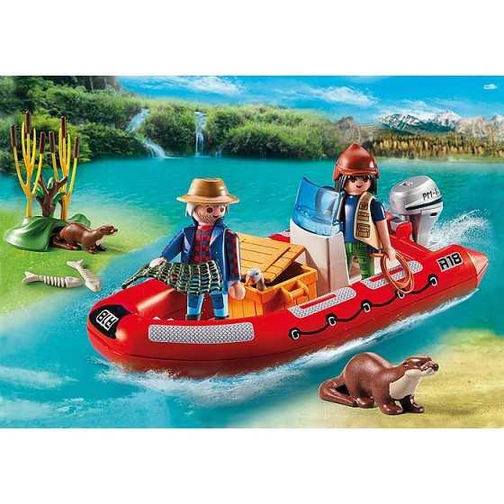 Playmobil 5559 Braconniers avec bateau