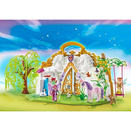 Playmobil 5208 Parc enchanté des fées et licorne transportable