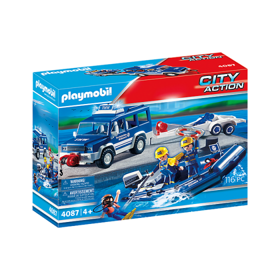 Playmobil 4087 Secouristes...