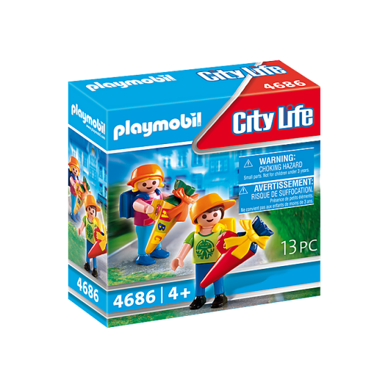 Playmobil 4686 Ecoliers...