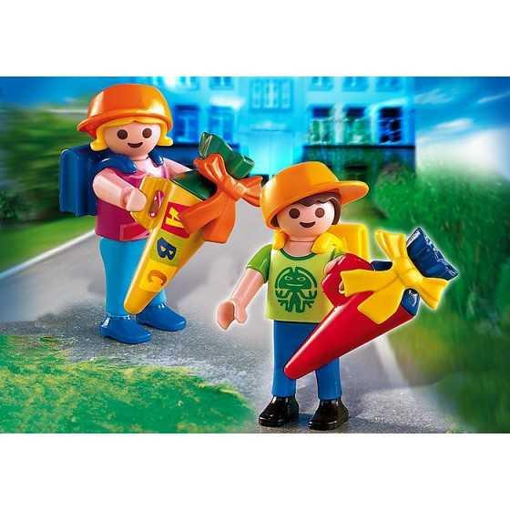 Playmobil 4686 Ecoliers avec pochettes surprises