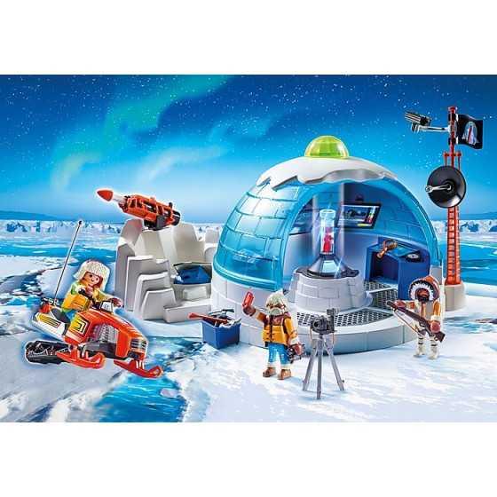 Playmobil 9055 Quartier général des explorateurs polaires
