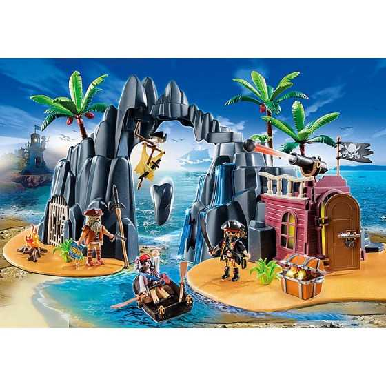 Playmobil 6679 Repaire pirates des ténèbres
