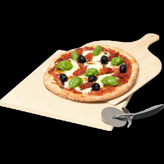 Set de pierre à pizza