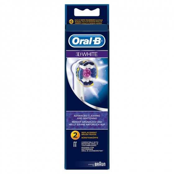 Brossettes 3D White ORAL B
