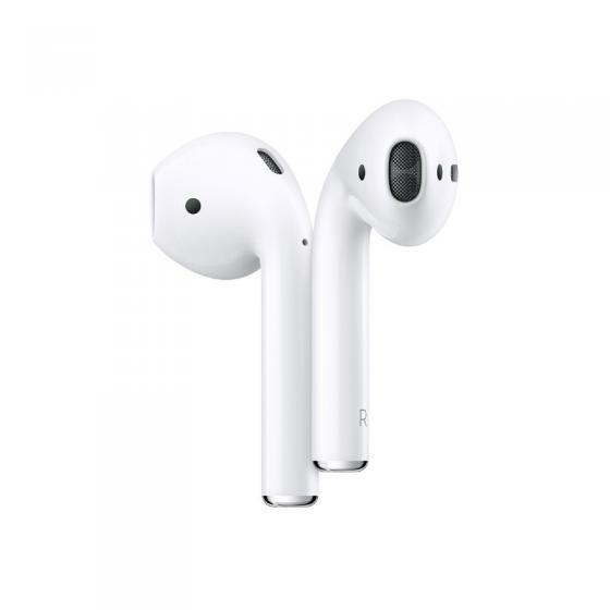 Apple Écouteurs Airpods 2 avec boitier de charge